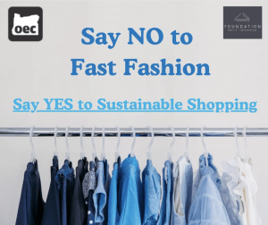 Say no to fast fashion, say yes to sustainable shopping
